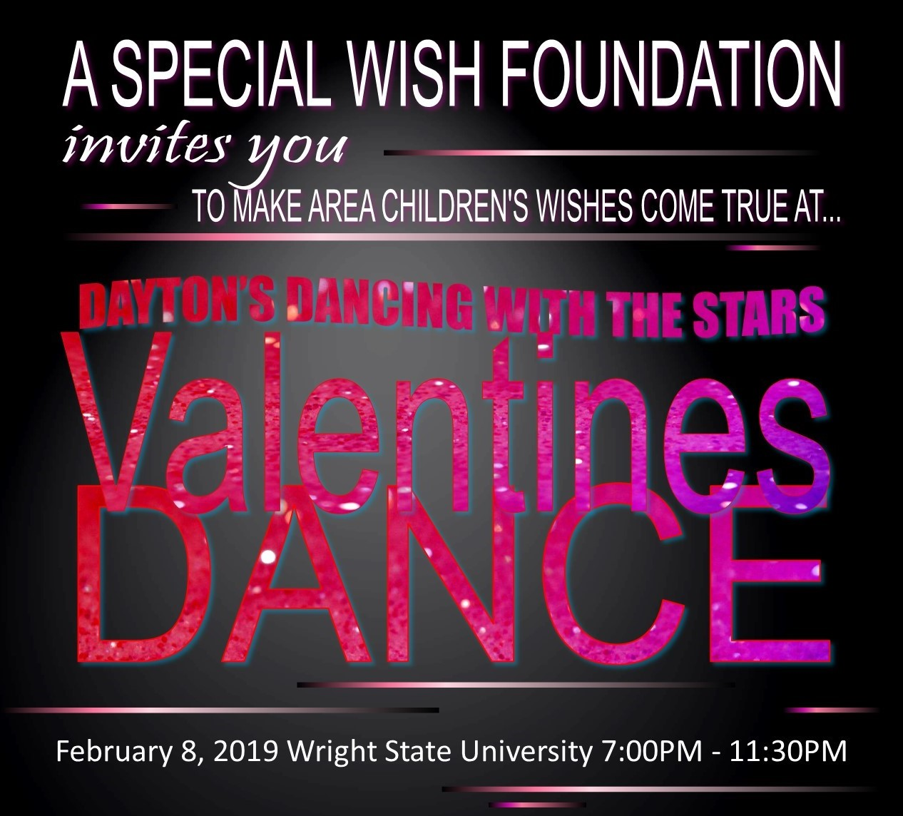 2019 Valentines Dance Dayton Dancing With The Stars February 8th
