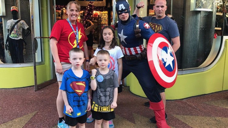 Ill New Carlisle boy, 4, gets to enjoy Disney