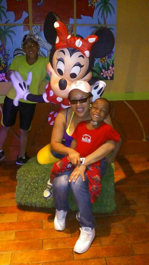A SPECIAL WISH FOUNDATION GRANTS A SPECIAL WISH FOR A FAMILIES TRIP TO WALT DISNEY WORLD
