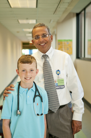 Doctor Makes a Difference for Local Children